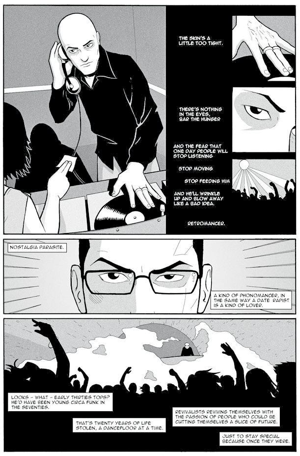 Comic phonogram trama